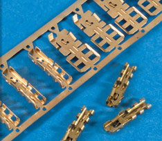 Our metal stamping process ensures fast turnaround and provides built-in cost saving features.